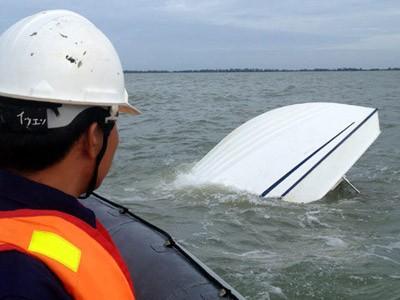 Vụ chìm tàu ở Cần Giờ ngày 2/8 một lần nữa cho thấy nhiều bất cập trong quản lý hoạt động giao thông đường thủy. Ảnh: Duy Công