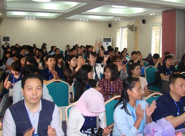 Cuộc hội ngộ sinh viên năm nước vì môi trường xanh ảnh 3