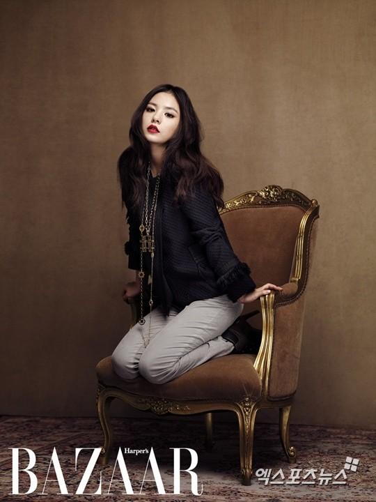 Min Hyo Rin quyến rũ trên BAZZAR ảnh 3