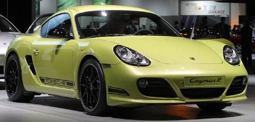 Hãng xe Đức Porsche trở lại triển lãm NAIAS 2011 với mẫu xe thể thao Cayman R