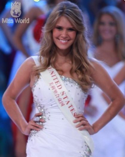 Năm người đẹp nhất Miss World 2010 ảnh 5