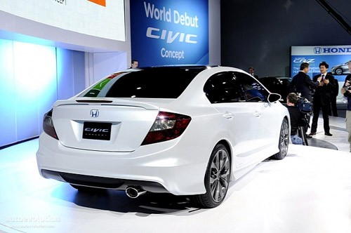 Honda Civic Concept - đổi mới toàn diện ảnh 4