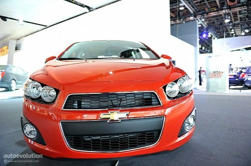 Chevrolet Sonic - đối thủ của Ford Fiesta lộ diện ảnh 1