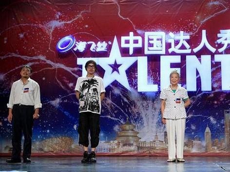 Bốn thí sinh của chương trình China's Got Talent. Ảnh: Telegraph