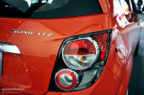 Chevrolet Sonic - đối thủ của Ford Fiesta lộ diện ảnh 6