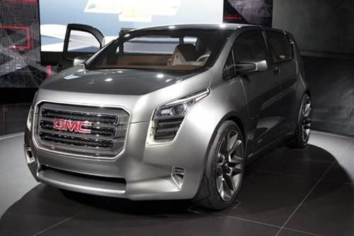 ... và mẫu crossover off-road hạng nhỏ GMC Granite tại triển lãm Detroit