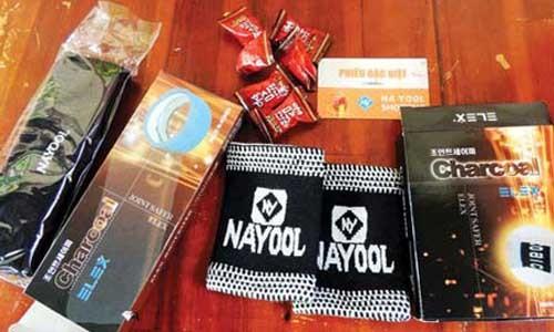 Các sản phẩm mà showroom Na Yool Shopping bán ra giá cao nhưng khả năng chửa bệnh chưa được y học chứng minh