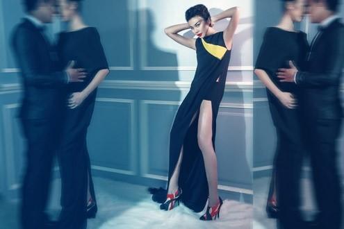 Thanh Hằng 'phiêu' trong mẫu váy mới của Công Trí ảnh 4