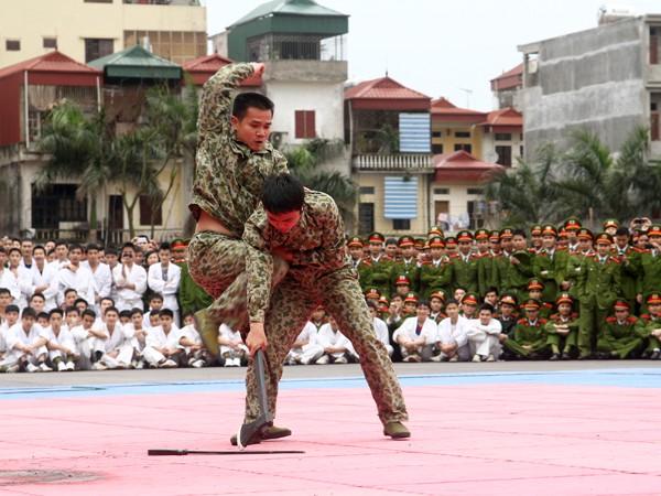 Cùng với lực lượng cảnh sát nhân dân, Hội thao còn có sự tham gia của lực lượng đặc công,