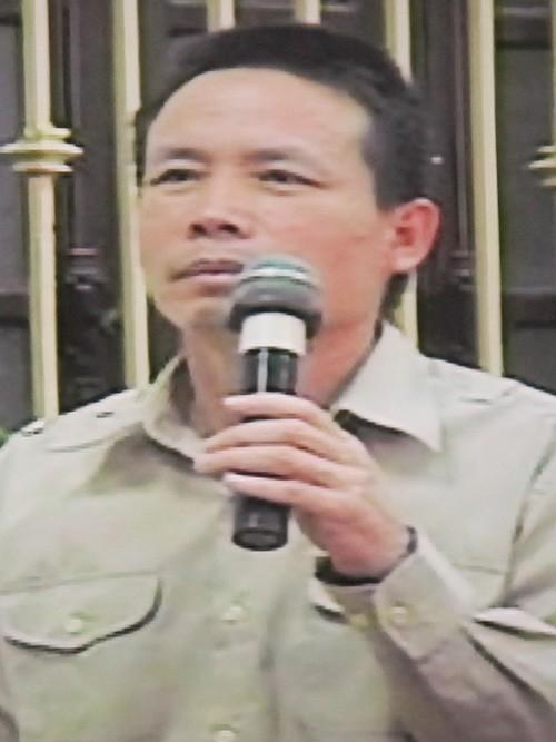 Bị hại Đoàn Văn Vươn tại tòa