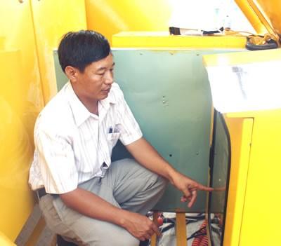 Kỹ sư Nguyễn Quang Huy..