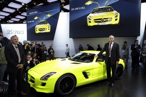Mercedes-Benz sản xuất SLS AMG E-Cell Prototype ảnh 2