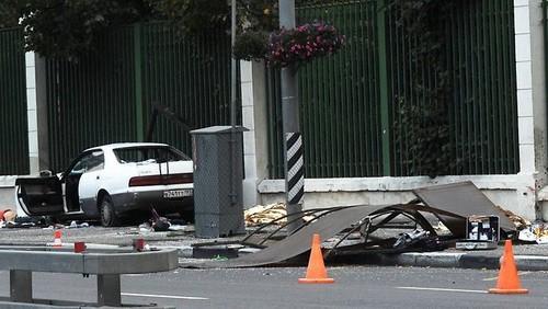 Tai nạn giao thông tại Nga