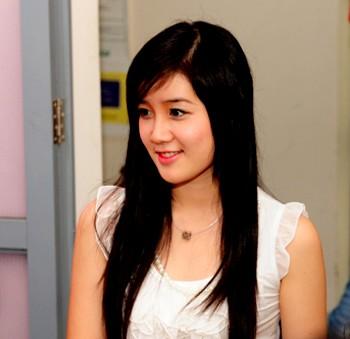 Xuân Mai - Miss Teen 2009 tham dự hoạt động lần đầu tiên có trong sân chơi Miss Teen