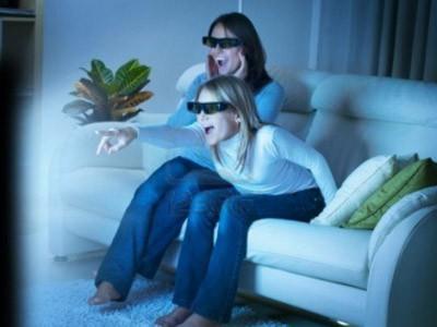 Trẻ em xem nhiều phim 3D sẽ dẫn đến mệt mỏi thị giác, có thể bị cận thị, loạn thị.... Ảnh:123rf