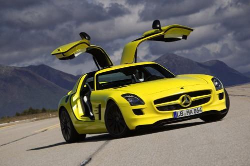 Mercedes-Benz sản xuất SLS AMG E-Cell Prototype ảnh 12