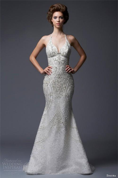 Váy cưới dành riêng cho cô dâu nóng bỏng ảnh 3
