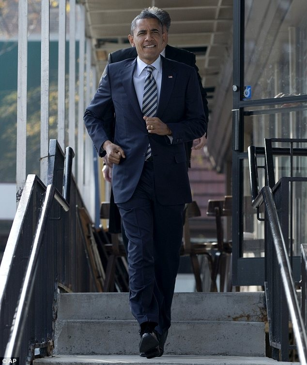 Chiến thắng của cuộc đua vào Nhà Trắng đã thuộc về ông Obama