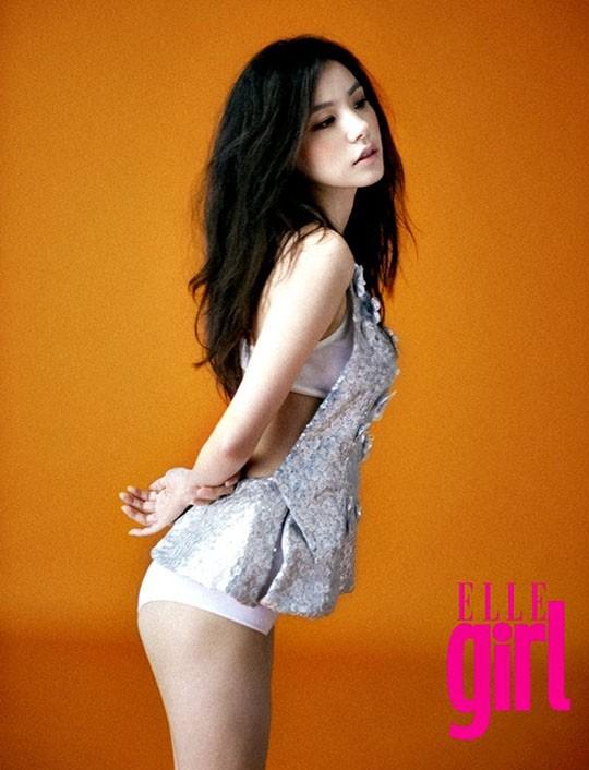 Min Hyo Rin quyến rũ trên BAZZAR ảnh 4