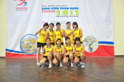 Đội bóng chuyền nữ ĐH Sư phạm Hà Nội