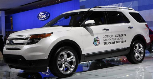 Ford Explorer 2011 – đoạt giải North American Truck of the Year 2011