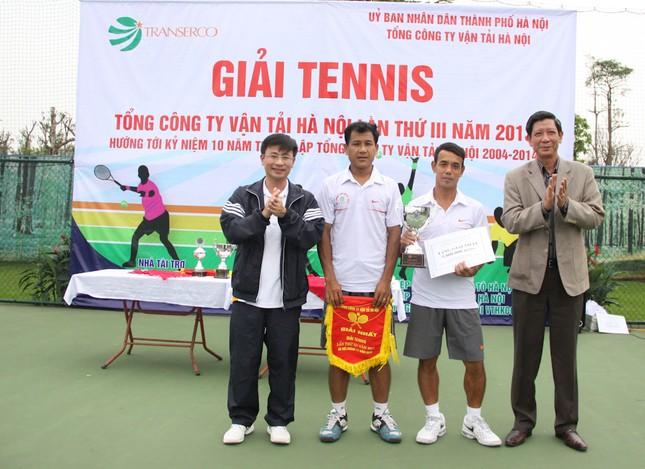 Sôi động giải tennis Transerco lần thứ III ảnh 3