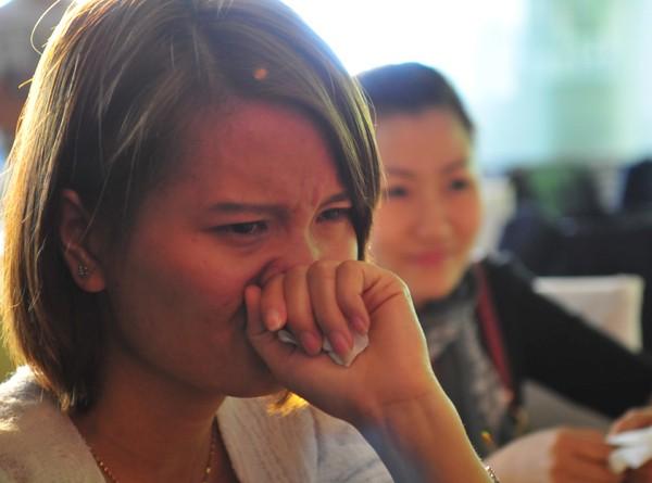 Thời gian đồng hành cùng các bạn Miss Teen đủ để nhiều thành viên trong ban tổ chức cuộc thi mắt đẫm lệ trong ngày chia tay