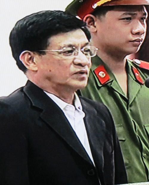 Bị cáo Lê Văn Hiền - cựu chủ tịch tỉnh Tiên Lãng