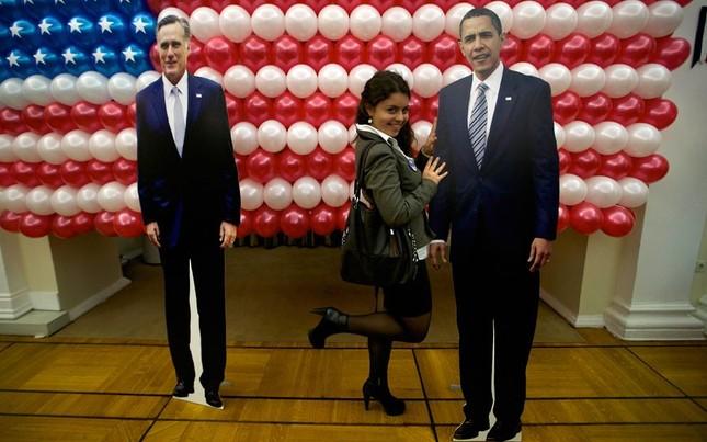 Hình ông Obama bên trong đại sứ quán Mỹ tại Moscow, Nga