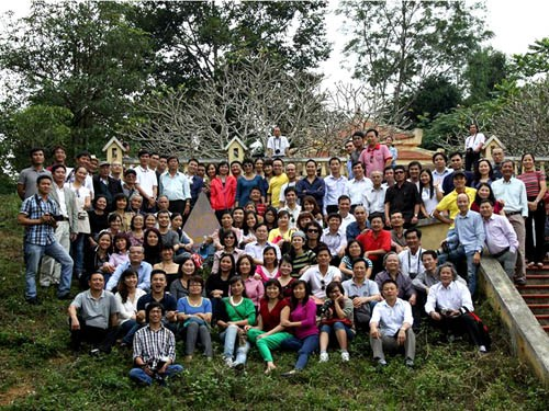 Gia đình Tiền Phong tụ hội về nơi đất tổ - Bản Dõn (hiện nay gọi là thôn Dõn)