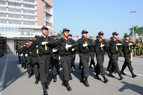 Cảnh sát dự bị đặc nhiệm luyện võ, chống khủng bố ảnh 4