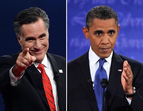 Đến thời điểm này, hương mặt tiềm năng cho chiếc ghế nóng trên đồi Capitol trong 4 năm tới vẫn là ẩn số khi tỷ lệ ủng hộ giành cho hai ứng cử viên Obama (phải) và Mitt Romney vẫn bám đuổi sít sao