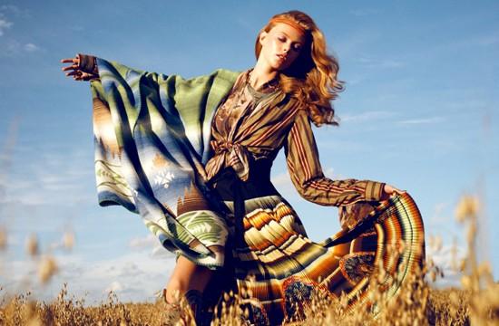 Thiếu nữ Bohemian rạng ngời trong nắng và gió ảnh 6