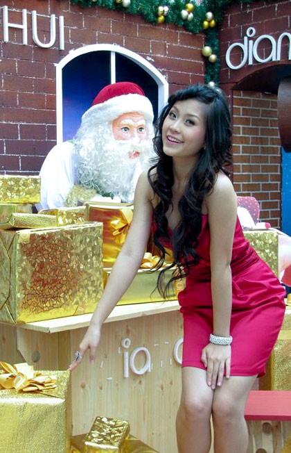 Miss Teen Diễm Trang xinh tươi xuống phố ngày Noel ảnh 2