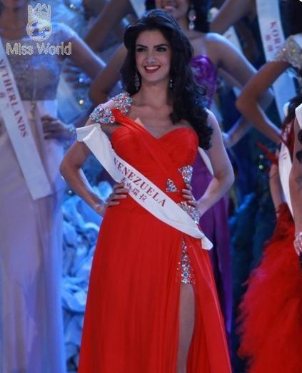 Năm người đẹp nhất Miss World 2010 ảnh 1