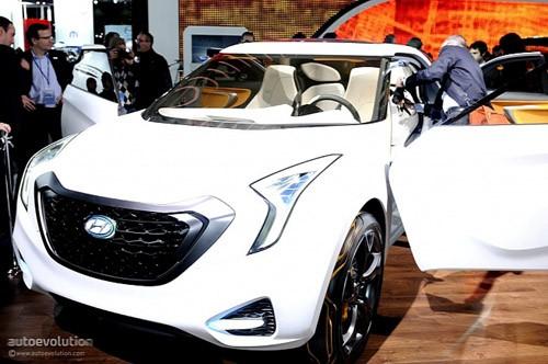 Hyundai Curb Concept – Khái niệm mới cho crossover ảnh 1