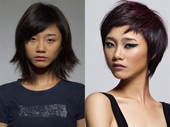 Trà My trước và sau khi thay đổi diện mạo