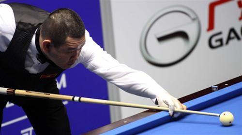 ý Thế Vinh trong trận tứ kết thắng Heo Jung Han của Hàn Quốc - Ảnh: Tuổi trẻ