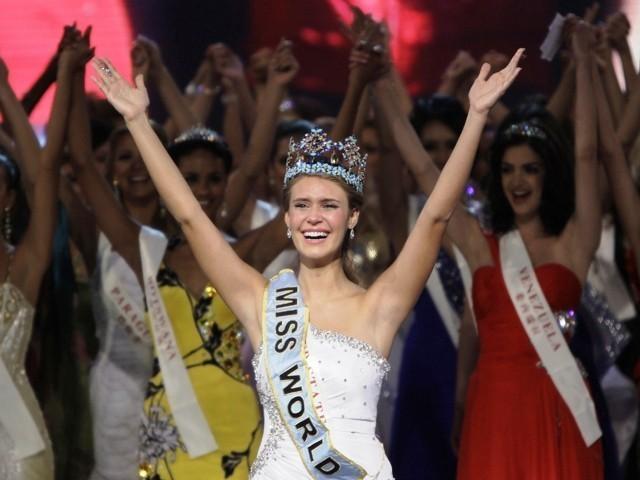 Giây phút đăng quang của Tân hoa hậu Thế giới ảnh 12