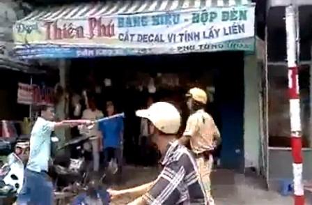 Người tấn công CSGT là cảnh sát cơ động ảnh 3