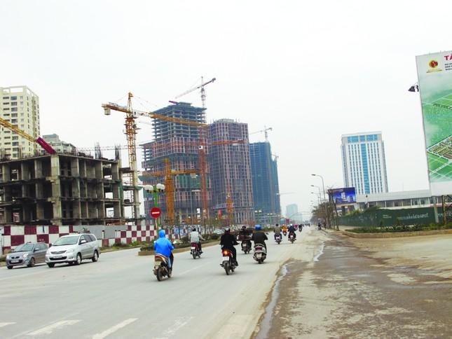 Đường bắc Hà Đông là một trong ít dự án BT được hoàn thành Ảnh: PV