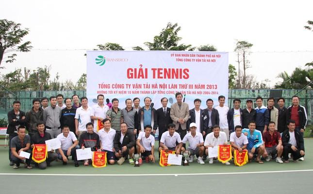 Sôi động giải tennis Transerco lần thứ III ảnh 2