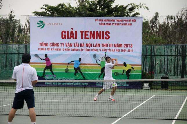 Sôi động giải tennis Transerco lần thứ III ảnh 17