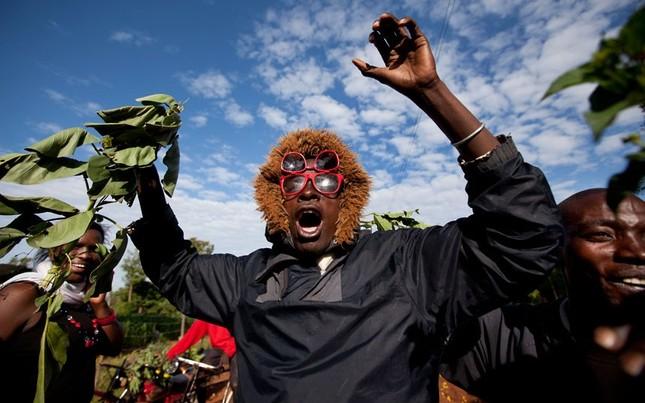Người dân ở Kenya vui mừng trước chiến thắng của ông Obama