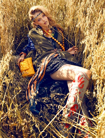 Thiếu nữ Bohemian rạng ngời trong nắng và gió ảnh 4