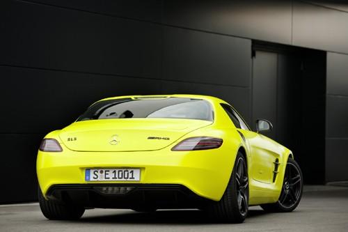 Mercedes-Benz sản xuất SLS AMG E-Cell Prototype ảnh 4