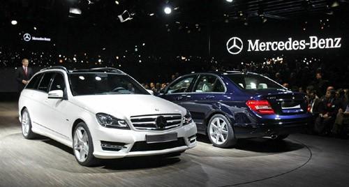 Hai phiên bản của dòng Mercedes Benz C Class thế hệ mới