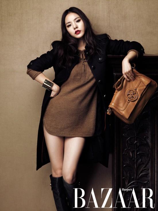 Min Hyo Rin quyến rũ trên BAZZAR ảnh 1
