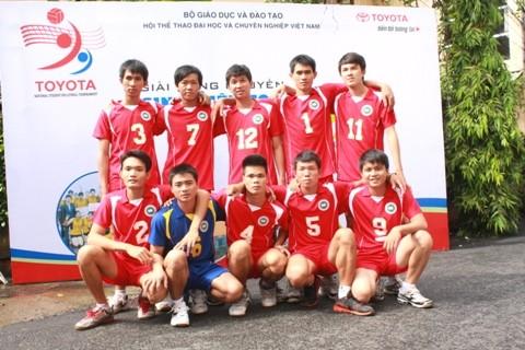 Đội bóng chuyền nam ĐH TDTT TPHCM
