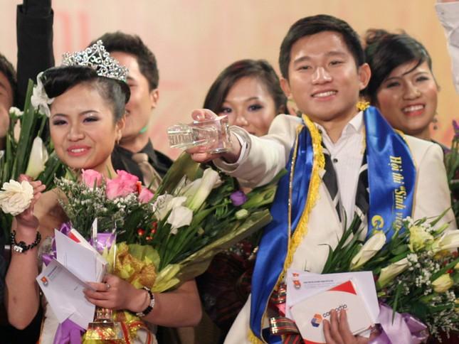 Tuyết Anh - Xuân Dũng cặp đôi tài sắc nhất của đêm Chung kết tài sắc sinh viên Thủ đô 2012